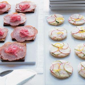 Receta: Sándwiches Daneses De Salami