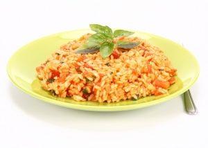 Curry de hortalizas variadas con arroz integral