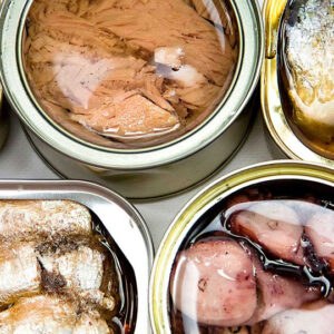 Las conservas de pescado