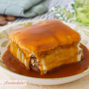 Receta de francesinha, el contundente sandwich típico de Oporto